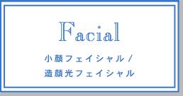 小顔フェイシャル/ 造顔光フェイシャル